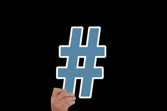 immagine hashtag facebook