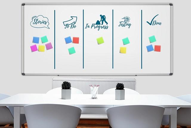 Immagine kanban board project management
