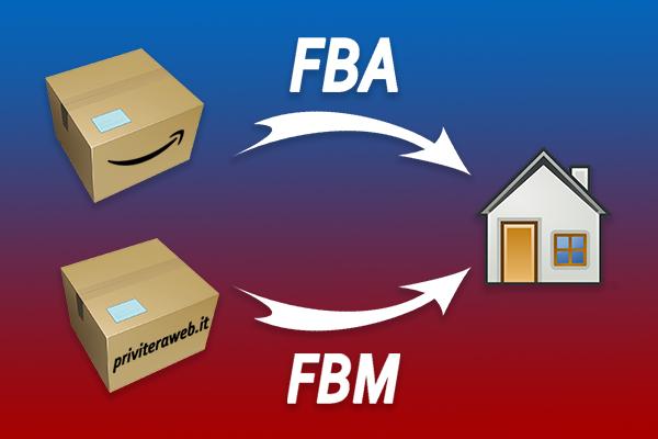 Immagine vendita Amazon FBA e FBM